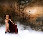Sophia Thomalla nackt im Hof