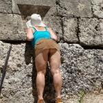 Sightseeing ohne Höschen