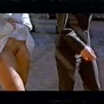 Jenny Elvers nackt bei Dreharbeiten