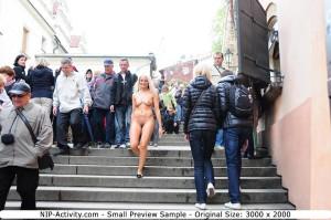 Nackt in der Stadt