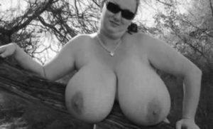 Spezielles Dating - Frau mit Monstertitten sucht